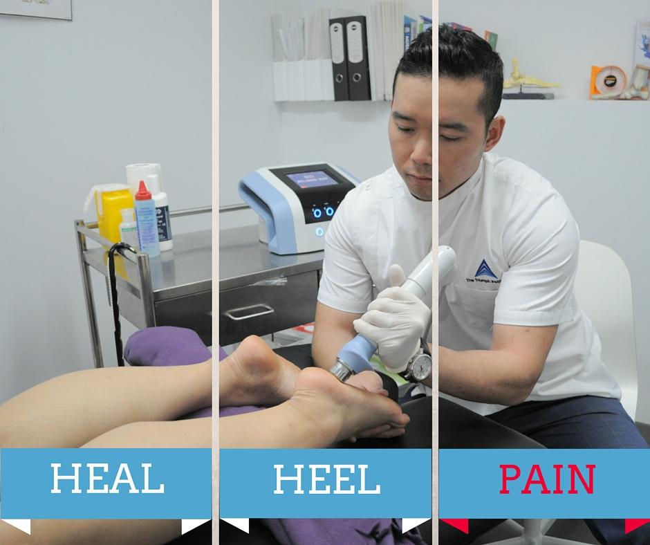 heal heel pain