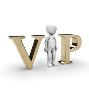 Are you a VIP in your eyes?